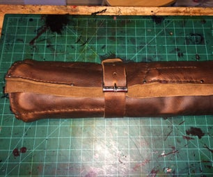 Mustang Leather Tool Roll