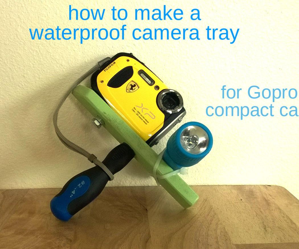 underwater camera mount