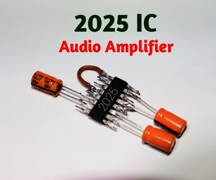 2025 IC Audio Amplifier Circuit