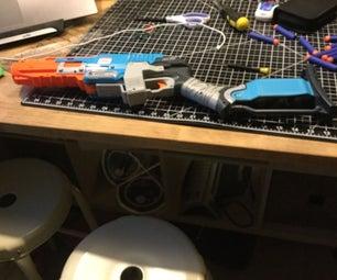 How to make a Nerf sawed off shotgun