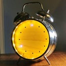 Upcycled Alarm Clock Smart Light