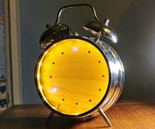Upcycled Alarm Clock Smart Light