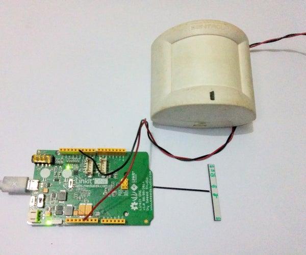 LinkIt One - Motion Sensor