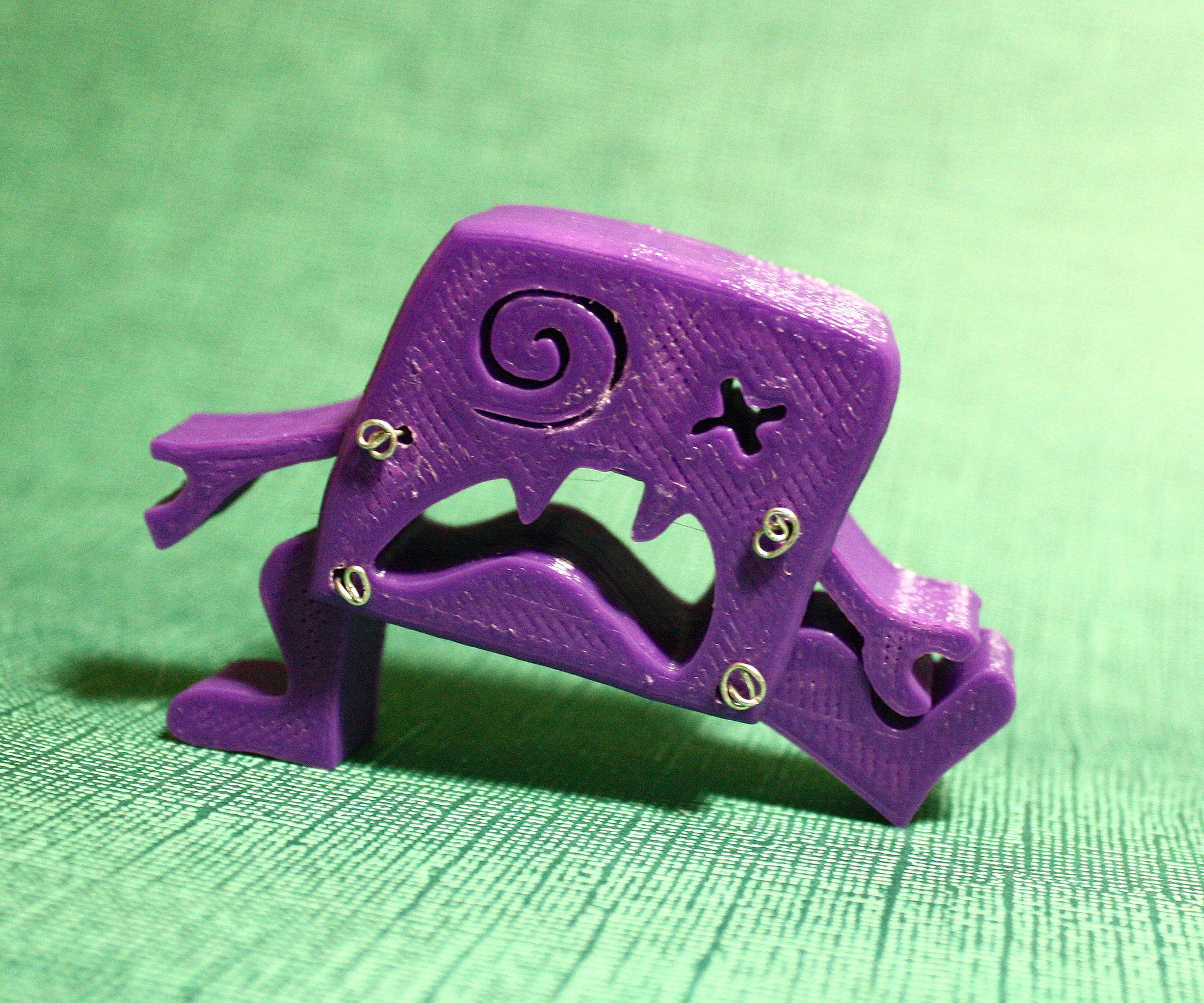 3D Printed Monster from 2D Drawing in 123D Design
