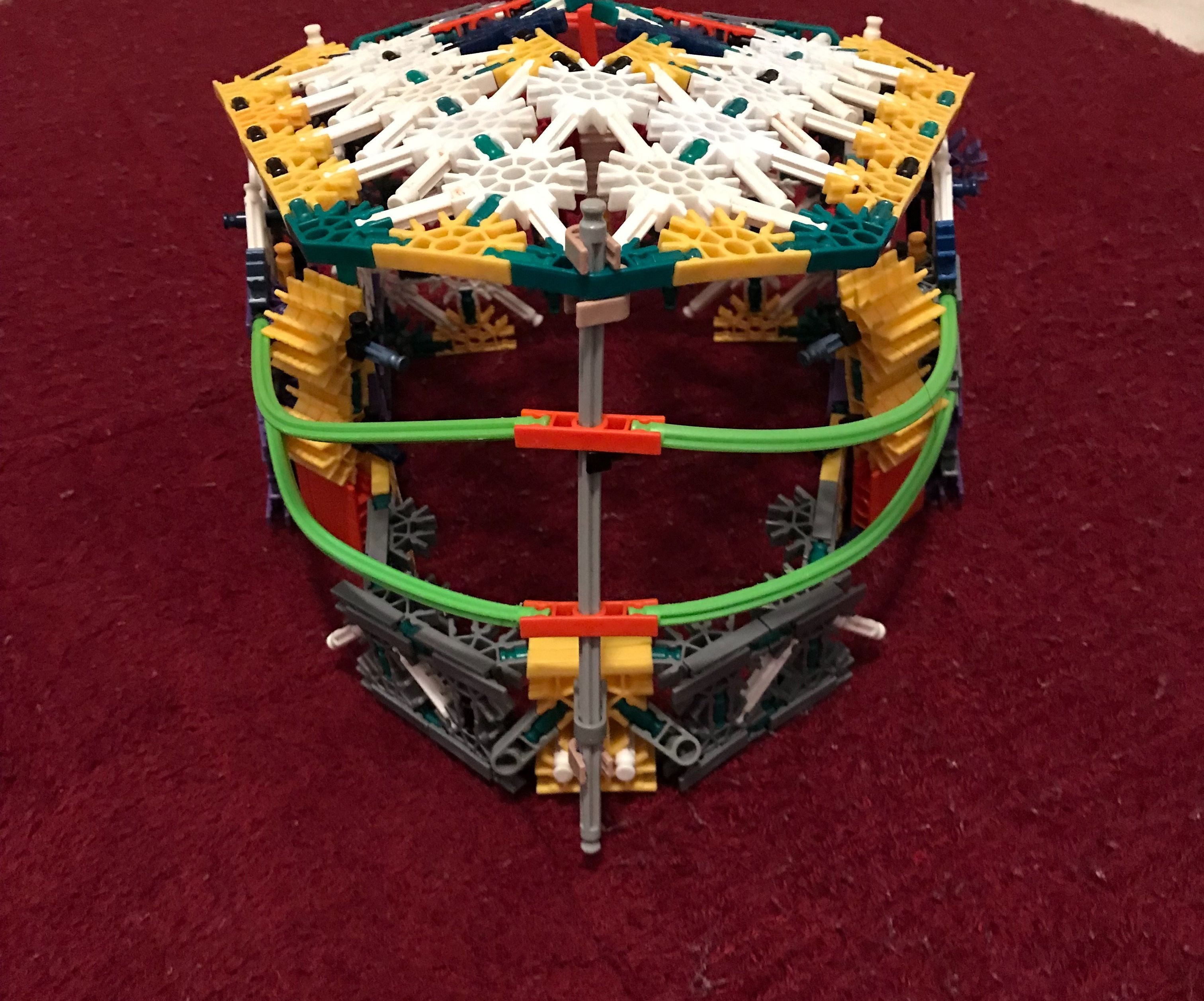 Knex Halo Mask With Front Support ( Almost Like a Baseball Helmet)