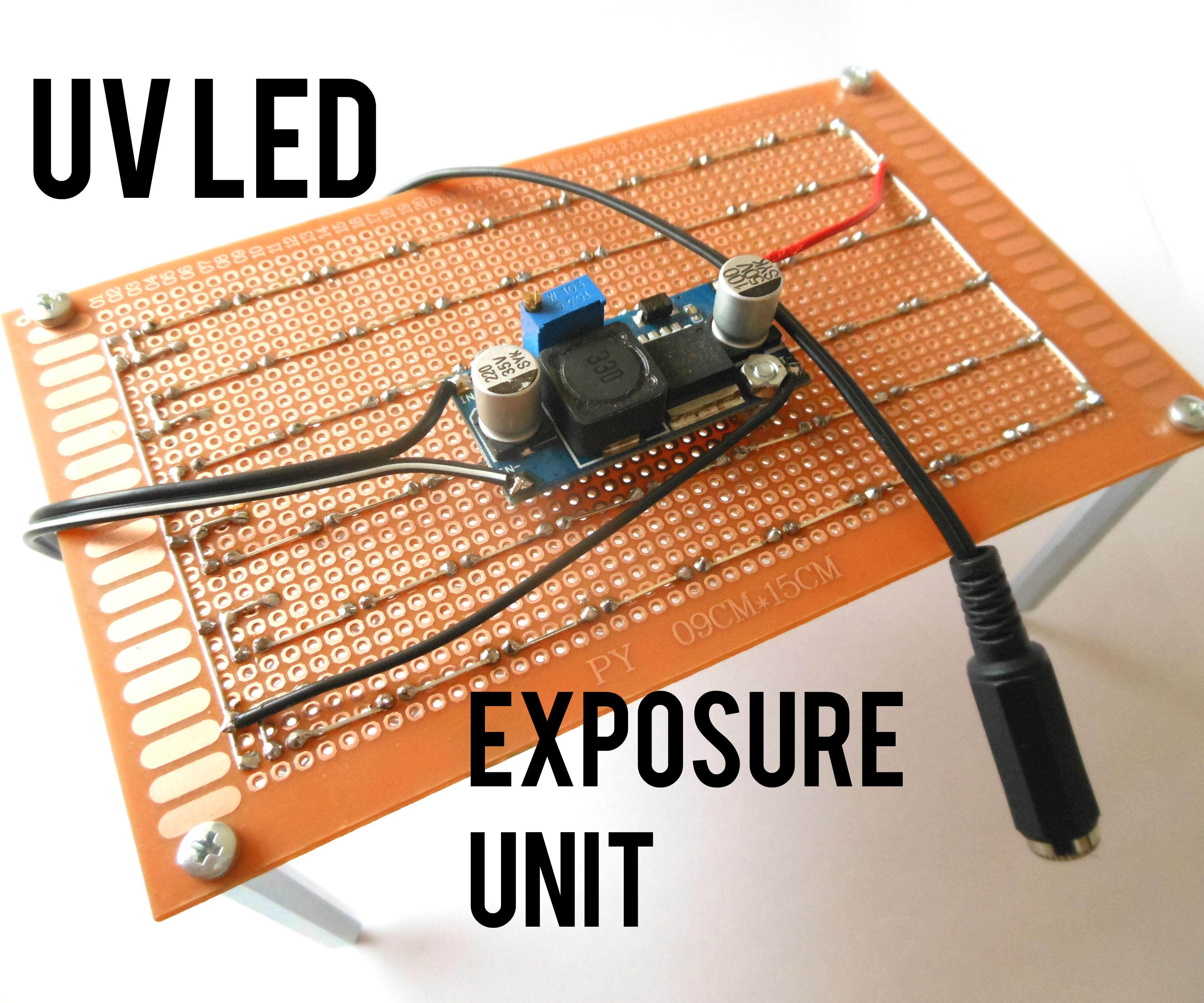 Modular UV LED Exposure Unit