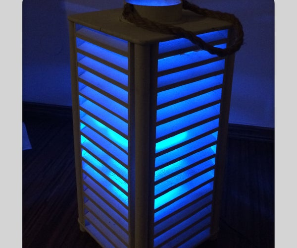 High Power RGB LED Moodlamp Which Syncs With Philips Hue