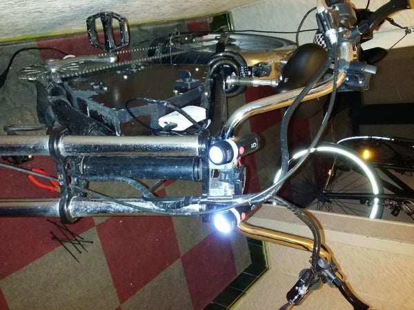 USB Powered Bicycle Frontal Lighting System