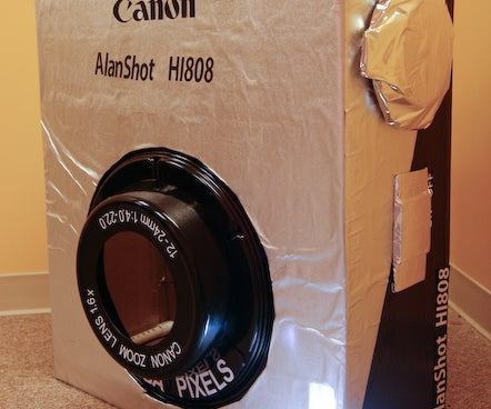 Canon Camera Costume