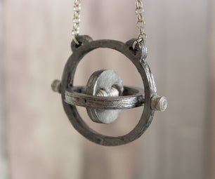 Paper Timeturner Necklace