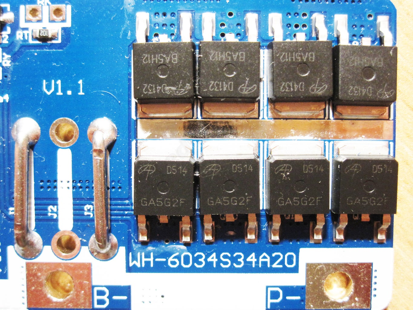 Description of Protection Board and Components
