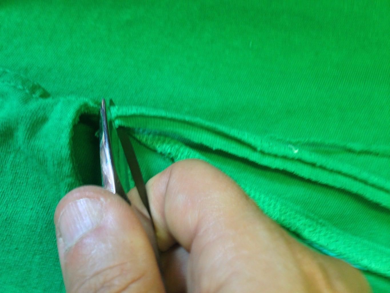 Cutting the Neckline...