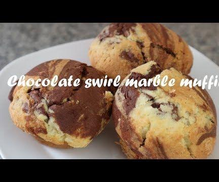 Chocolate Swirl Marble Muffins Recipe