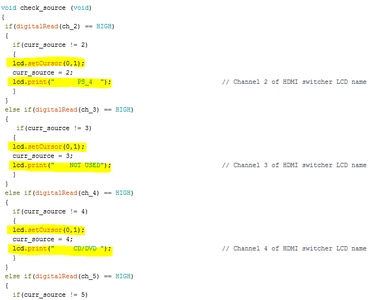 The Arduino and Arduino Code