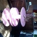 Zapatero de tambor de cable eléctrico de madera
