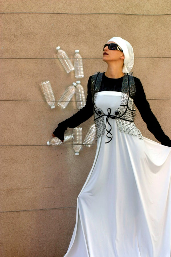 High-End Fashion Vest From Recycled Plastic Bottles