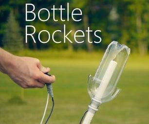 苏打瓶火箭发射器
