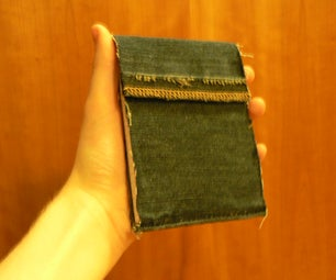 Pocket Sized Denim Paper Pad