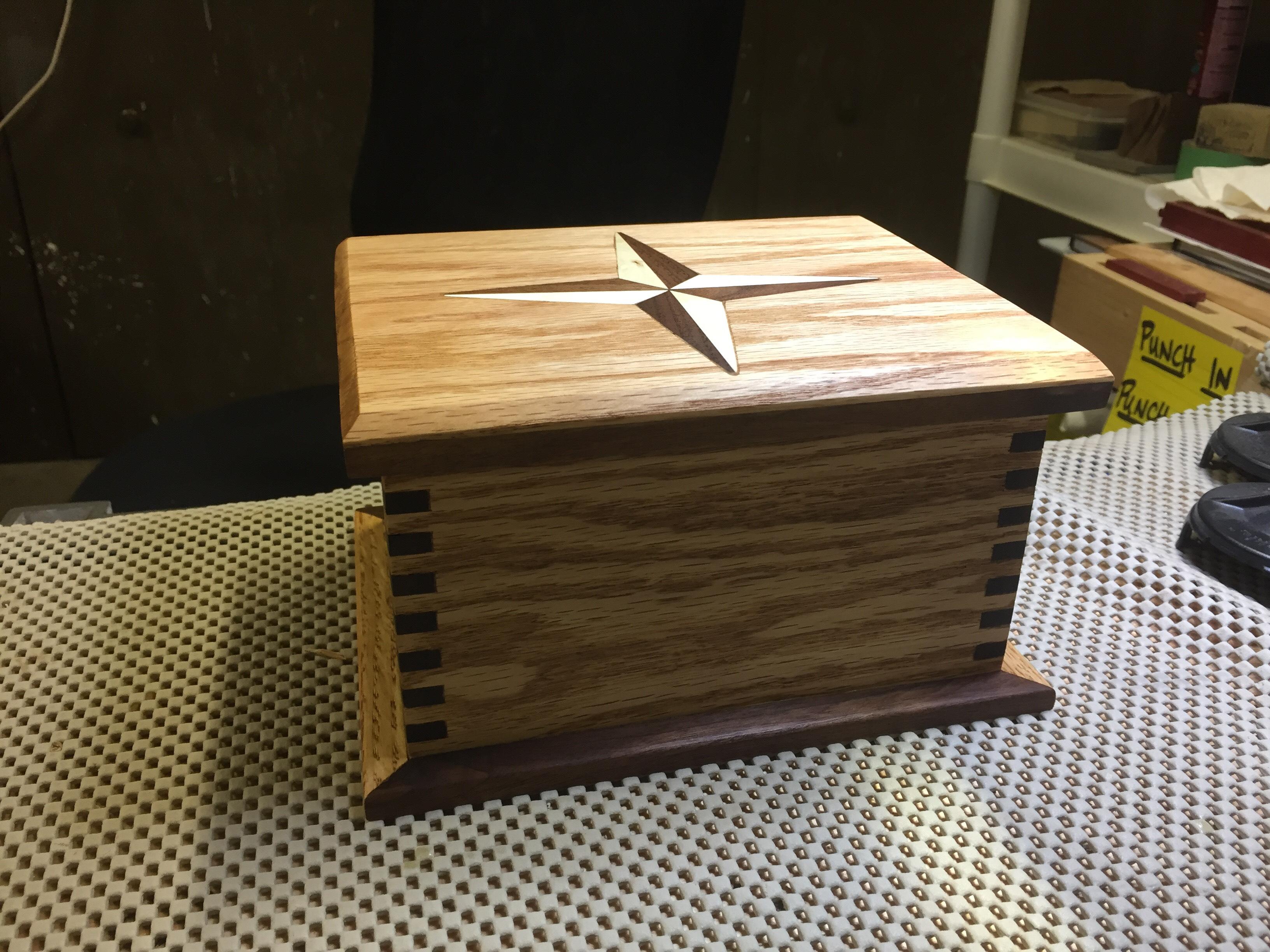 Inlay Keepsake Box
