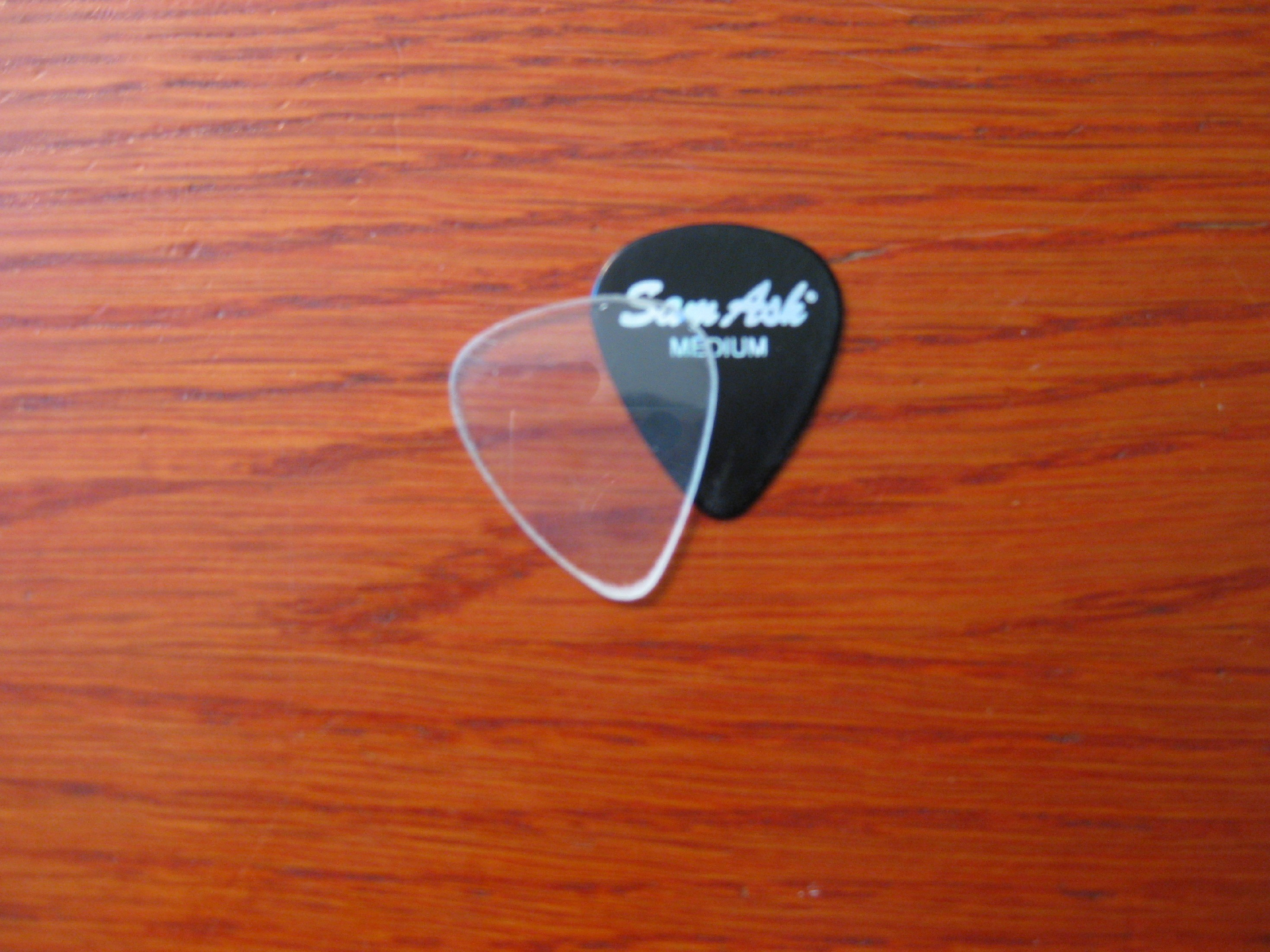 Transparent Guitar Pick