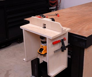 How to Build Benchtop Router Table
