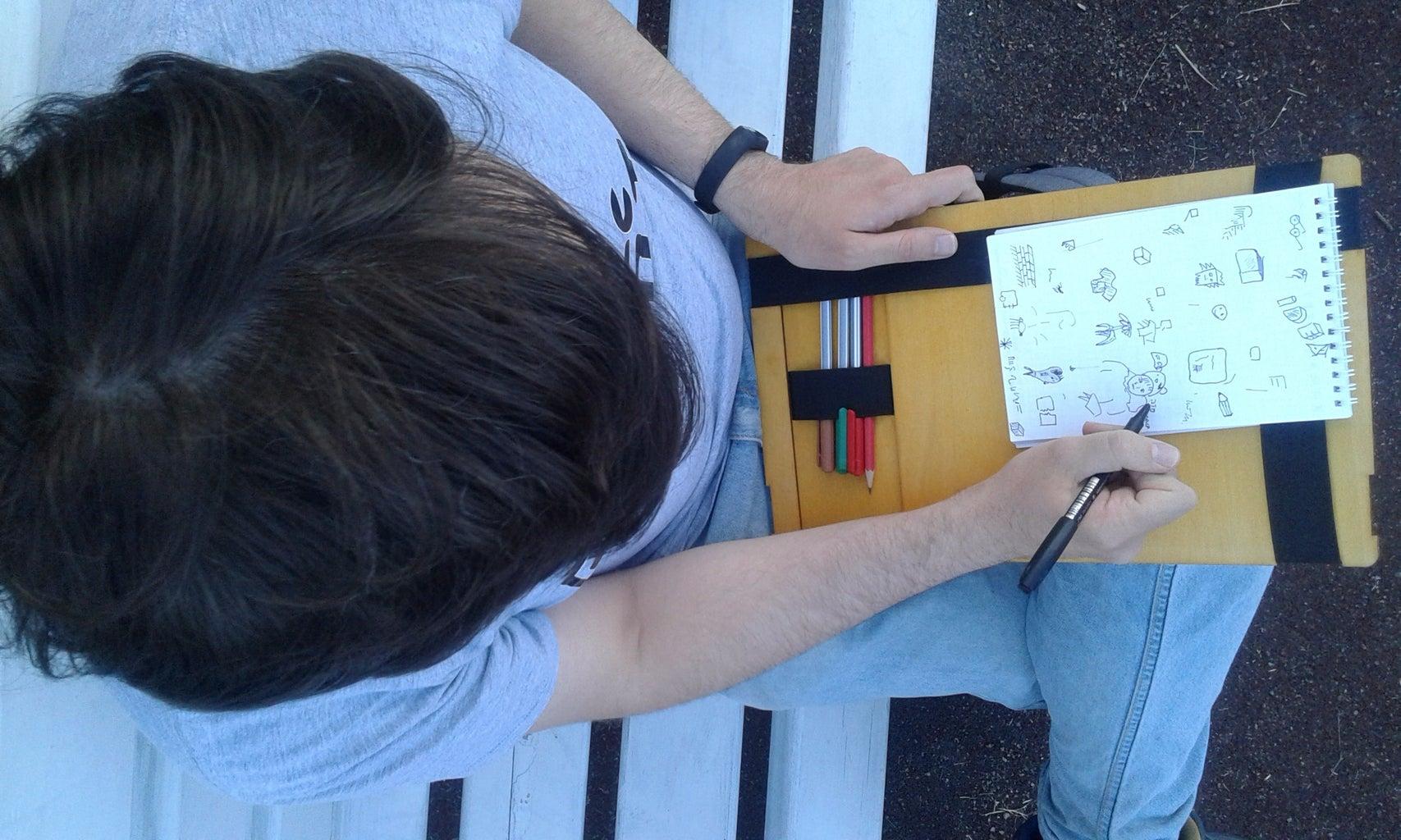 Portable Sketch Board