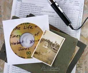 记录您的家庭的口腔历史 - 在它消失之前。