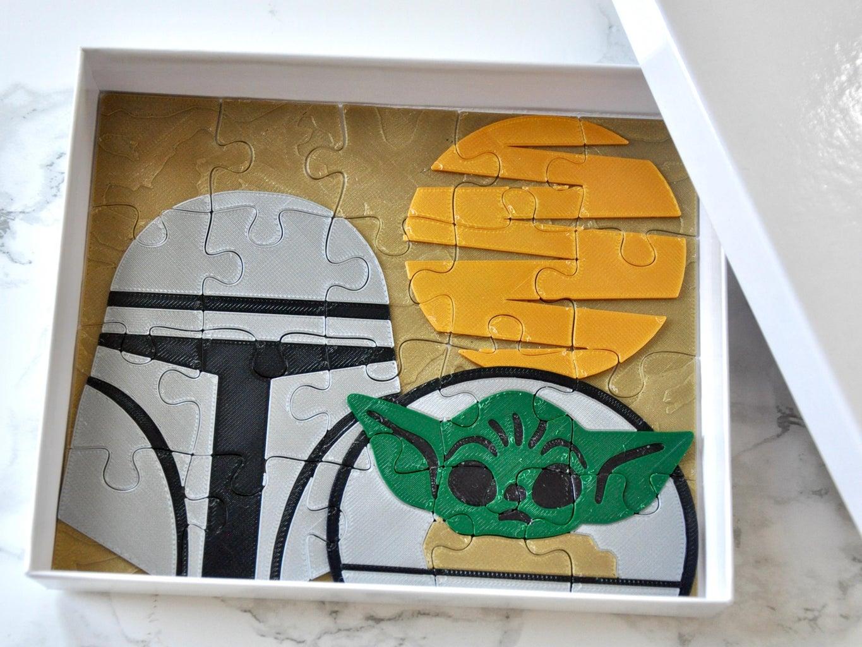 Baby Yoda / the Child / Grogu and the Mandalorian