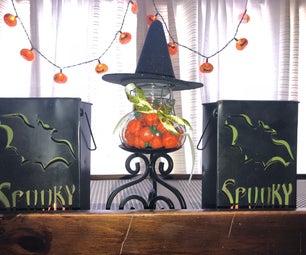 Wicked Witch Candy Jar