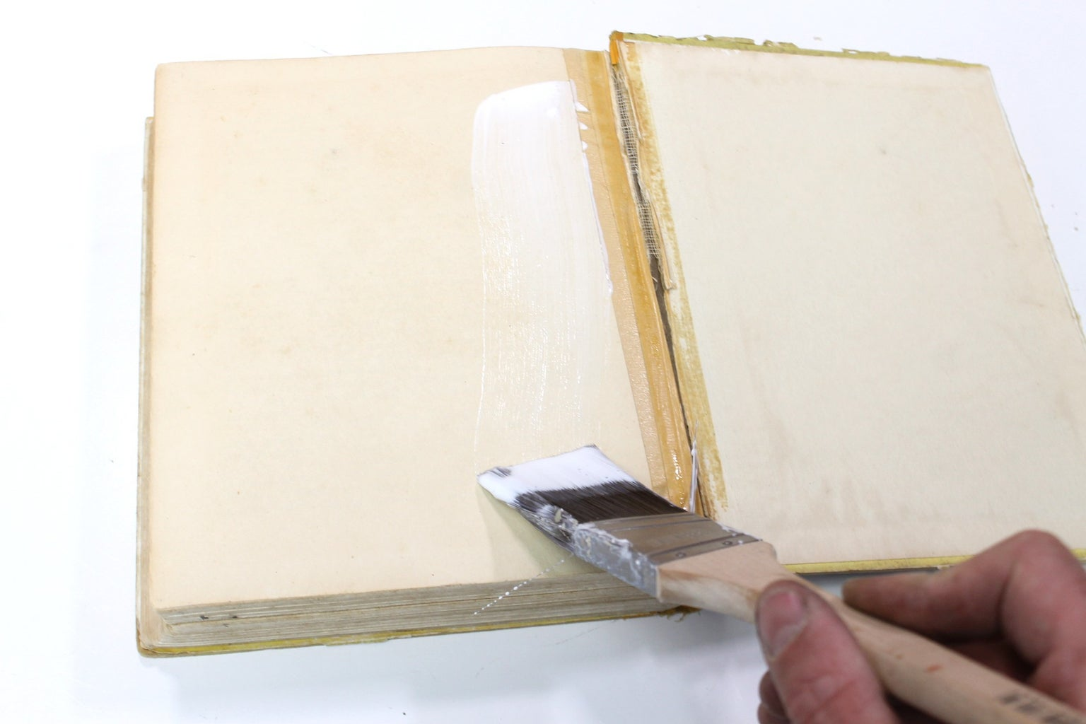 Gluing the Pages Together