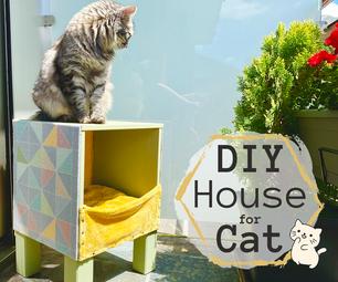立方体猫房子