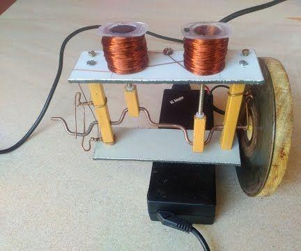 How to Make Solenoid Engine DIY