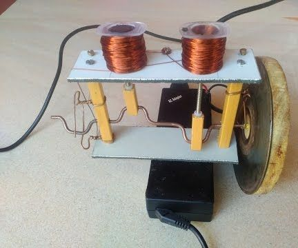 How to Make Solenoid Engine DIY