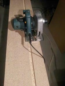 DIY Track Saw Using a Cheap Circular Saw