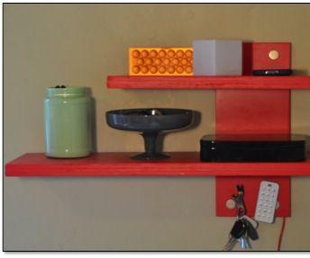 Multi-Use Magic Shelf- Qi-Enabled, Embedded Magnets