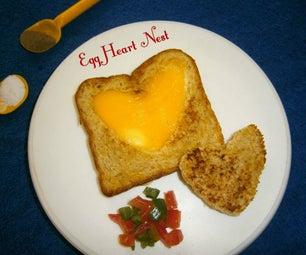Egg Heart Nest