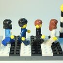 Light-Up Beatles Abbey Road (Lego)