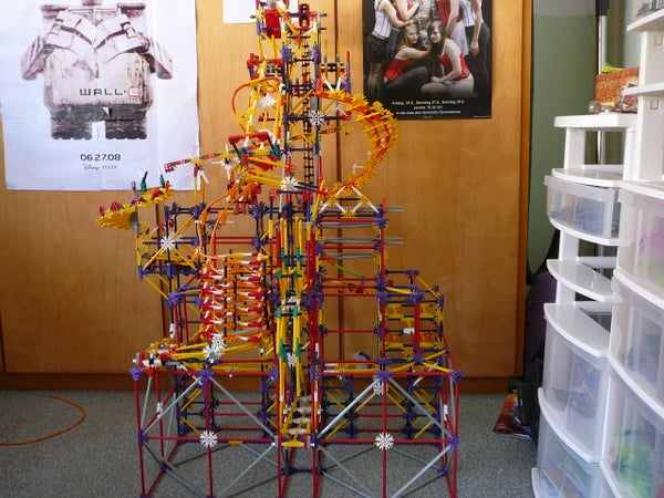 """How to Build Project """"Fab"""" Knex Ball Machine"""