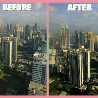 How to Achieve Miniature Effect Via Photoshop