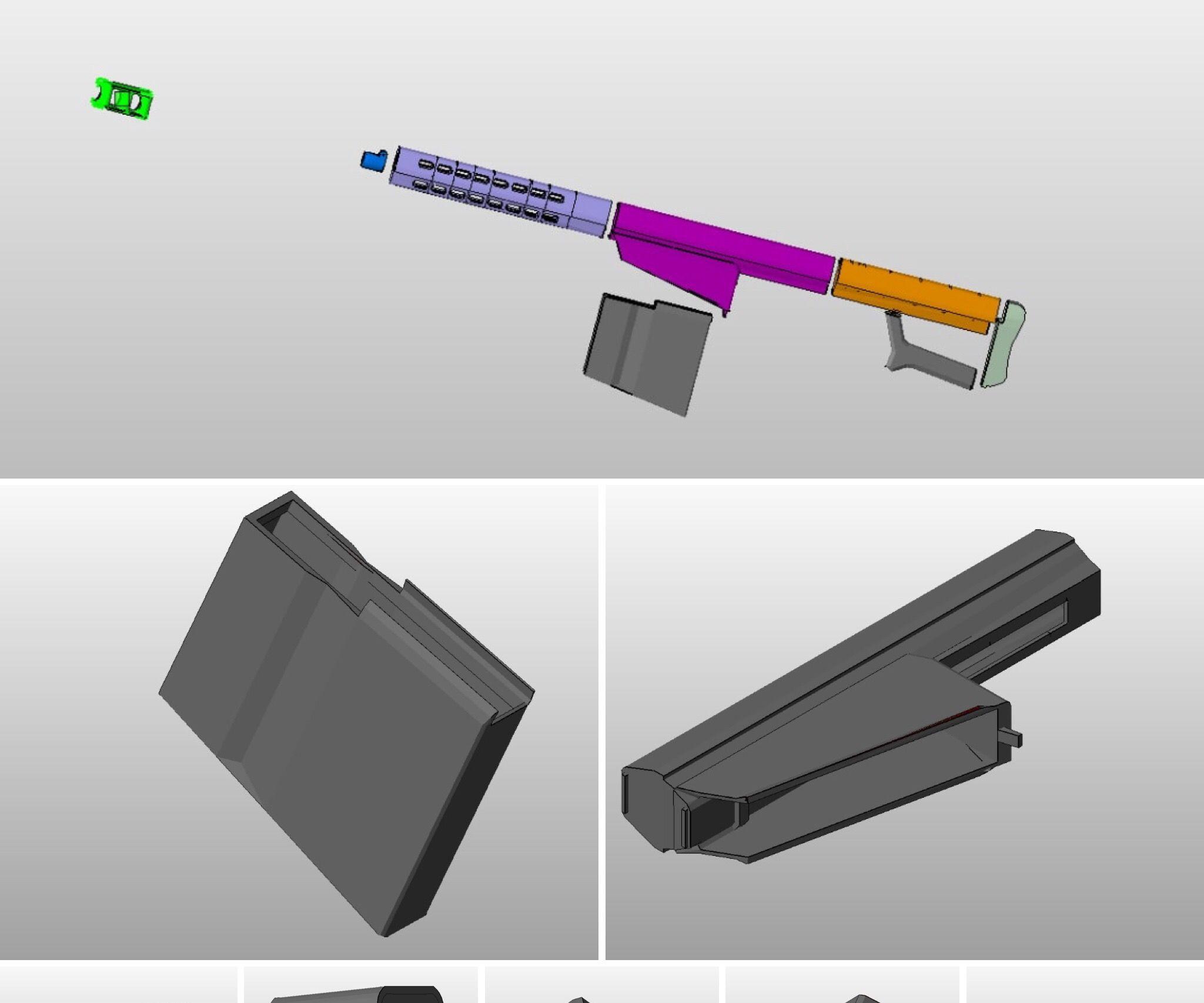 3D PRINTED TIPPMAN A5 BARRET