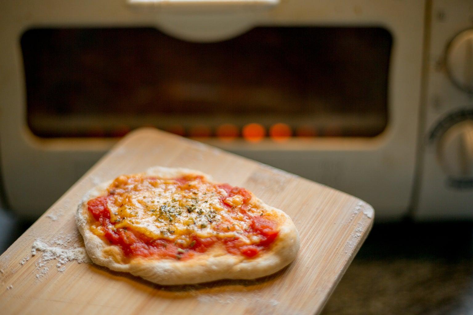 Improvising a Tiny Pizza Oven