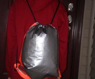 Duct Tape Drawstring Bag