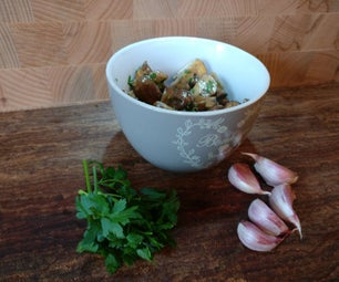 Quick and Easy Mushrooms.