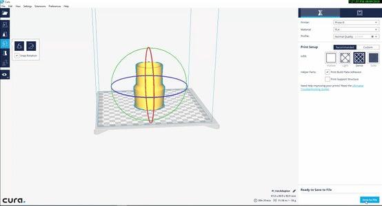 Cura 3D Slicing