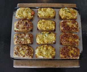 Delicious Grilled Toasties With Left-over Curry