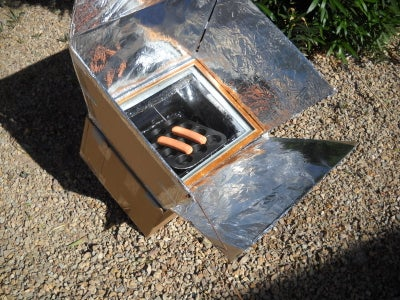 Cardboard and Duct Tape Solar Oven