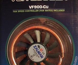 Installing a Zalman VF900-Cu Heatsink on a Radeon X800 XT Mac Edition for Use in an Apple G5 Tower