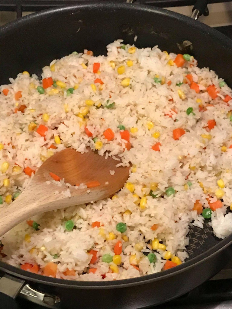 Cooking the Fried Rice