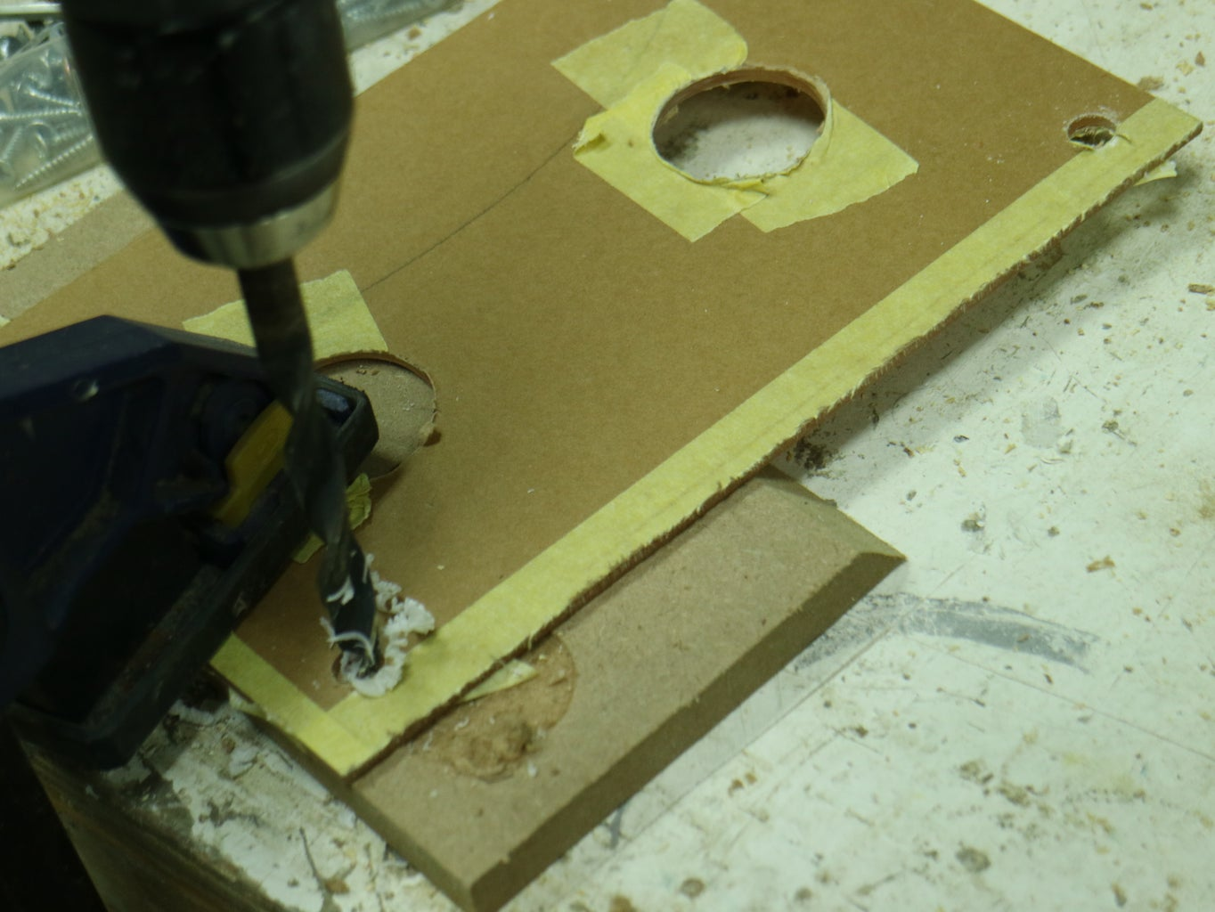 Predrill and Assembly