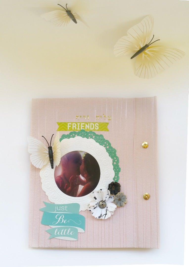 Book Binding DIY-Wedding Guestbook